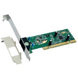 EXSYS Interne PCI Fax/Modemkarte, V.90/56K