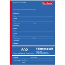 herlitz Formularbuch Fahrtenbuch 601, A6 quer, 40 Blatt