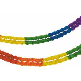 PAPSTAR Großraumgirlande Rainbow, 160 mm, aus Papier
