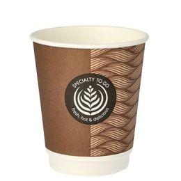 PAPSTAR Hartpapier-Kaffeebecher To Go, 0,2 l