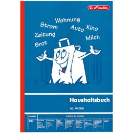 herlitz Formularbuch Haushaltsbuch, DIN A5, 40 Blatt