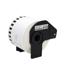 rillstab Endlos-Etiketten Papier, 62 mm x 30,48 m, ablösbar