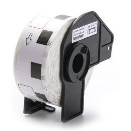 rillstab Rollenetiketten, 62 x 100 mm, weiß, permanent