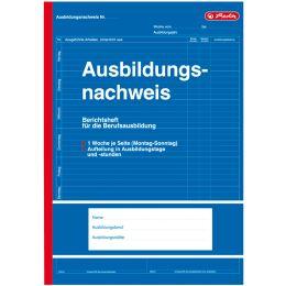 herlitz Formularbuch Ausbildungsnachweis, DIN A4, 28 Blatt
