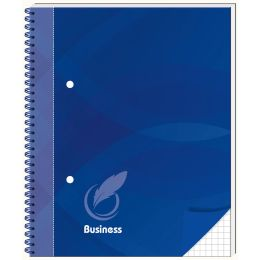 RNK Verlag Spiralbuch Business blau, DIN A5, kariert