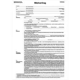 herlitz Vordruck Mietvertrag, DIN A4, 4-seitig