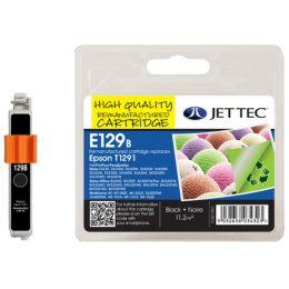 JET TEC wiederbefüllte Tinte E55B ersetzt T0551, schwarz