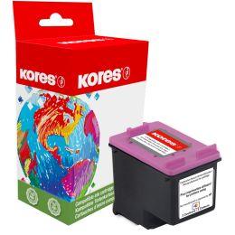 Kores Tinte G1700HCBK ersetzt hp C8719EE/hp No.363, schwarz