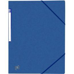 Oxford Eckspanner Top File+, DIN A4, blau