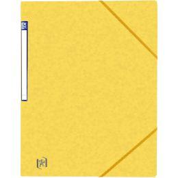 Oxford Eckspannermappe Top File+, DIN A4, gelb