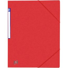 Oxford Eckspanner Top File+, DIN A4, rot