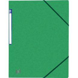 Oxford Eckspanner Top File+, DIN A4, grün