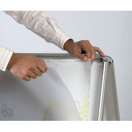 Bi-Office Plakatständer, Aluminiumrahmen, 461 x 884 mm
