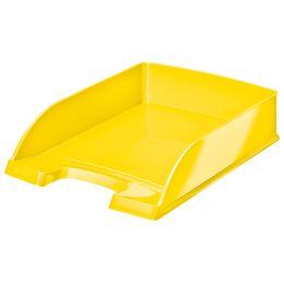 LEITZ Briefablage Plus WOW, A4, Polystyrol, gelb