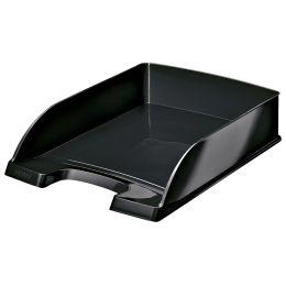 LEITZ Briefablage Plus WOW, A4, Polystyrol, schwarz