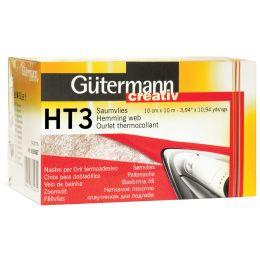 Gütermann Saumvlies HT3, 100 mm x 10 m, weiß