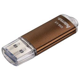 hama USB 3.0 Speicherstick FlashPen Laeta, 16 GB, braun