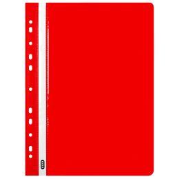 Oxford Abheft-Schnellhefter, DIN A4, PP, rot