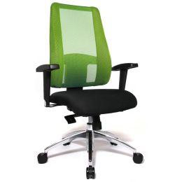Topstar Bürodrehstuhl Lady Sitness Deluxe, schwarz/grün