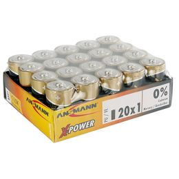 ANSMANN Alkaline Batterie X-Power, Baby C, 20er Display