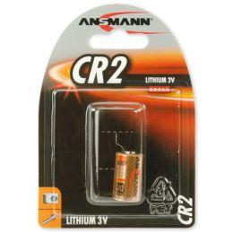 ANSMANN Lithium-Foto-Batterie CR2, 3 Volt, 1er-Blister