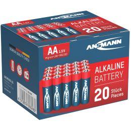 ANSMANN Alkaline Batterie RED, Mignon AA, 20er Blister
