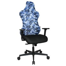 Topstar Bürodrehstuhl Sitness RS Sport, schwarz/blau