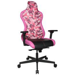 Topstar Bürodrehstuhl Sitness RS Sport Plus, schwarz/pink