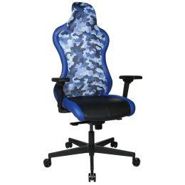 Topstar Bürodrehstuhl Sitness RS Sport Plus, schwarz/blau
