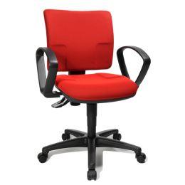 Topstar Bürodrehstuhl U 50, rot