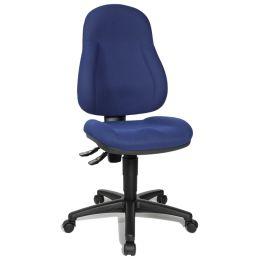 Topstar Bürodrehstuhl Wellpoint 10 P, blau