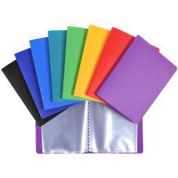 EXACOMPTA Sichtbuch Opak, 110 x 150 mm, PP, farbig sortiert