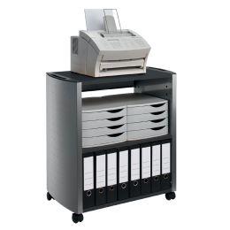 DURABLE DESIGN LINE Bürowagen L, metallic silber / anthrazit