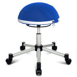 Topstar Fitness-Hocker Sitness Half Ball, blau