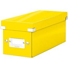 LEITZ CD-Ablagebox Click & Store WOW, gelb