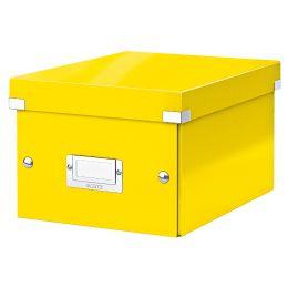 LEITZ Ablagebox Click & Store WOW, DIN A5, gelb