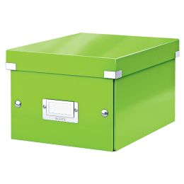 LEITZ Ablagebox Click & Store WOW, DIN A5, grün