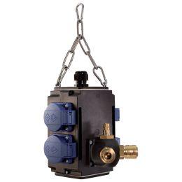 BACHMANN Energiewürfel 4-fach, 1x Druckluftanschluss