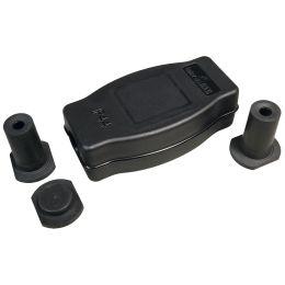 BACHMANN Kabelbox-Set 9002, 4-teilig, IP44, schwarz