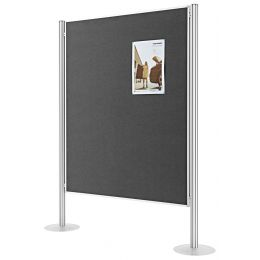 magnetoplan Präsentationswand Set 3, (B)5.185 x (H)1.800 mm