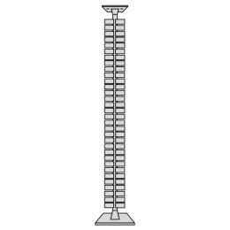 kerkmann vertikale Kabelführung für Sitz-/Stehtische