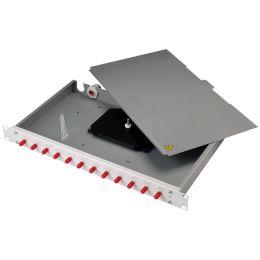 Telegärtner 19 LWL Patch Panel Basis eco mit 12 x LC-Duplex