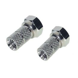 shiverpeaks BASIC-S F-Verbindung, Twist-on F-Stecker