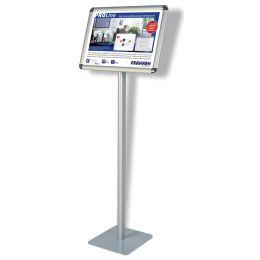 FRANKEN Infoständer Standard, DIN A3 quer, Höhe: 1.200 mm