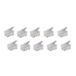 shiverpeaks BASIC-S Modular-Stecker RJ10/14, ungeschirmt