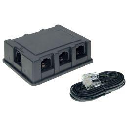 shiverpeaks BASIC-S ISDN Verteilerbox, 6-fach