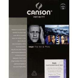 CANSON INFINITY Fotopapier Rag Photographique Duo, A3