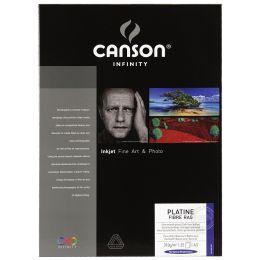 CANSON INFINITY Fotopapier Platine Fibre Rag, 310 g/qm, A3