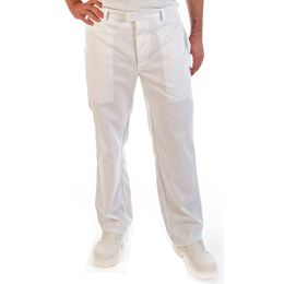 HYGOSTAR HACCP-Bundhose, Größe: XL, weiß