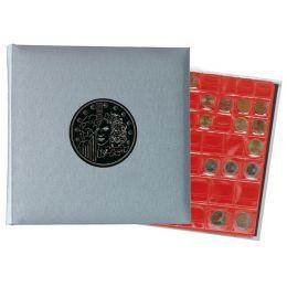 EXACOMPTA Münzalbum, 245 x 250 mm, silber-metallic